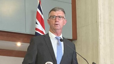 Deputy LNP Leader Tim Mander insists there will be no forced redundancies and they will grow frontline staff if elected.