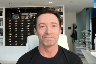 """Hugh Jackman joined the Global Citizen campaign to """"end COVID-19 and kickstart a global recovery""""."""