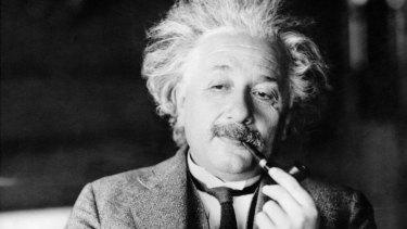 Nobel physicist Albert Einstein.