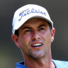 Scott descends late to lead field into final day of PGA Championship