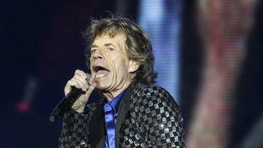 Mick Jagger, Rolling Stones frontman.