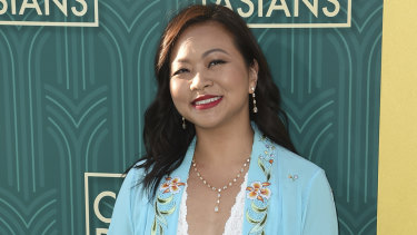 Adele Lim at the premiere of Crazy Rich Asians at the TCL Chinese Theatre in Los Angeles in August last year.