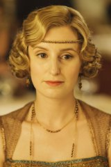 Carmichael shot to fame as Lady Edith Crawley in Downton Abbey.