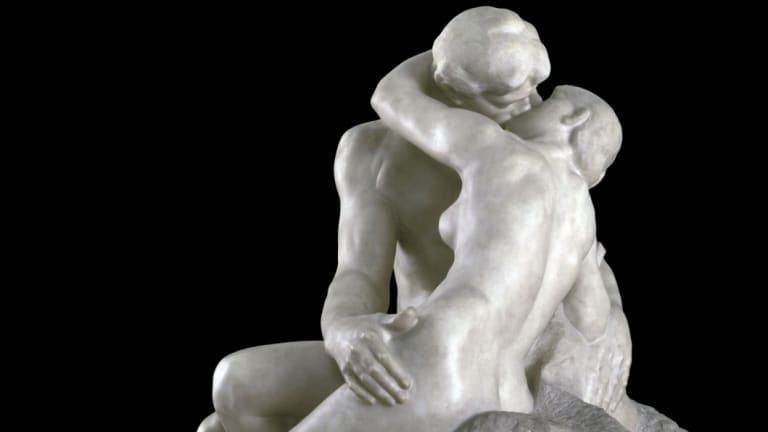 Gender equality: Auguste Rodin's The Kiss.