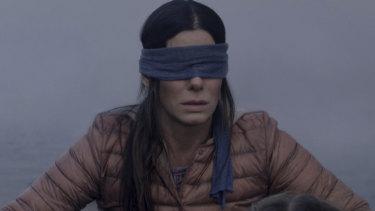 Sandra Bullock in Bird Box.