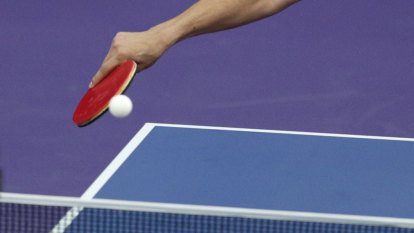 Snapshot: The ping-pong match that saw Max Rooke go ping