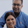 Sharmil and Praween Maharaj. Praween Maharaj was a nurse in the mental health unit at Liverpool Hospital, whose death at work is currently under investigation.