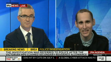 Simon Smith makes regular media appearances as an expert on cyber crime