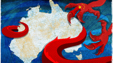 China has ratcheted up pressure on Australia.