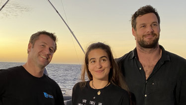 Dean Miller, Madison Stewart and Lucas Handley will report from the Great Barrier Reef.