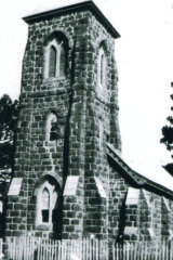 St Mary's Church - consecrated in 1885 and destroyed in 1957 - was built by the labour of Gunditjmara men.