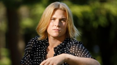 Ruled ineligible: Transgender footballer Hannah Mouncey dismissed Navratilova's comments out of hand.