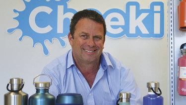 Simon Karlik is the founder of Cheeki.