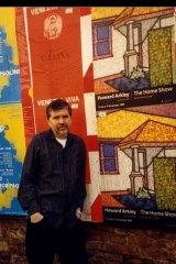 Howard Arkley in Venice 1999.