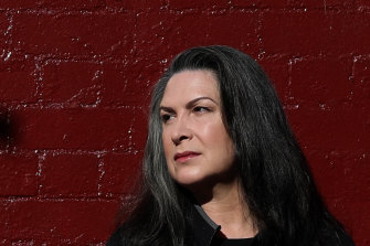 Pamela Rabe plays Madame Ranevskaya in the Belvoir production of The Cherry Orchard.
