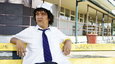 Chris Lilley's character Jonah Takalua (pictured), who headlined his own series but created controversy.