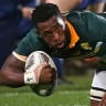 Springboks appoint first black captain in 127-year history