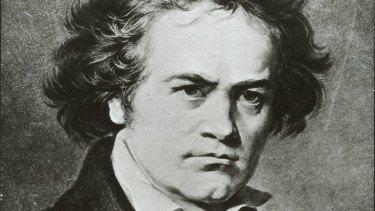 Composer Ludwig van Beethoven.