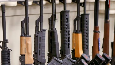 Semi-automatic sporting rifles for sale in the US, a country whose gun debate has influenced New Zealand's.