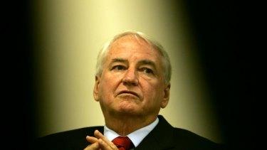 Corruption fighter Tony Fitzgerald, QC.