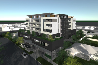 A rendering of the property Unison wants to build in Werribee in Melbourne's outer south-west.