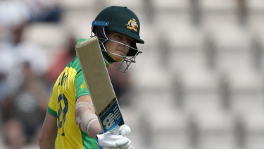 Ominous: Steve Smith starred in Australia's victory over England.