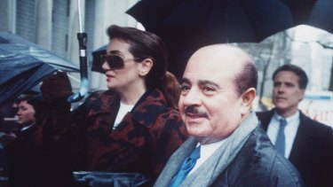 The Saudi arms dealer Adnan Khashoggi, pictured in 1990, was once one of the world's richest men.