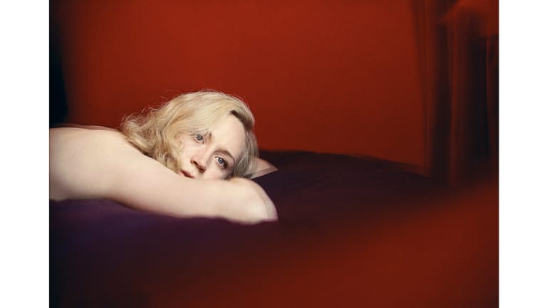 Gwendoline Christie poses for Borland's Bunny series in Untitled XXXII, 2006.