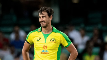 Mitchell Starc had just 11 runs to play with in the final over but bowled five straight dots balls.