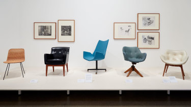 The evolution of the office chair.