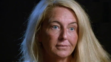 Nicola Gobbo appeared on the ABC last year, but her face wasn't seen in the royal commission on Tuesday..