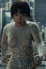 She has previously courted controversy over her casting in Ghost in the Shell.