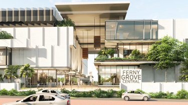 Honeycombes Property Group's proposed Ferny Grove Central development.