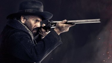 Kevin Costner stars in Hatfields & McCoys.