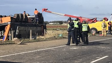 Truck driver who died in Princes Freeway rollover has been