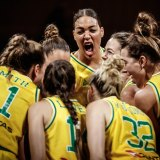 Push for change: The Australian Opals.