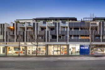 It's no ordinary retail at 441-469 Malvern Road, South Yarra.