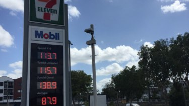 Fuel prices sink before Christmas to as low as $1.13 per litre