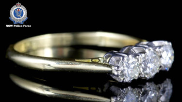 Police hope members of the public have information about this diamond ring.