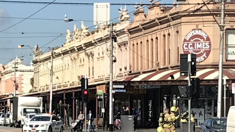 Businesses evacuated due to gas leak in South Melbourne