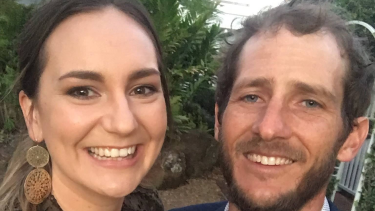 Kate Leadbetter, 31, and Matty Field, 37, both Alexandra Hills locals, died at the scene of the crash.