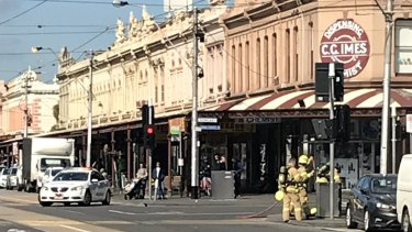Emergency services are at the scene of a major gas leak on Clarendon Street.