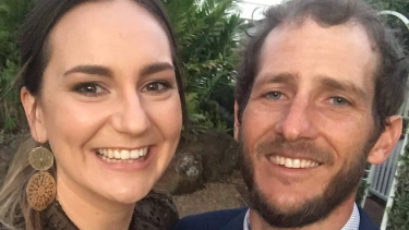 Kate Leadbetter, 31, and Matty Field, 37, died at the scene of a crash at Alexandra Hills.