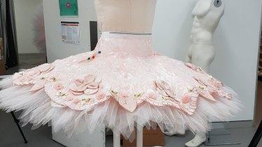 One of Princess Aurora's tutus.