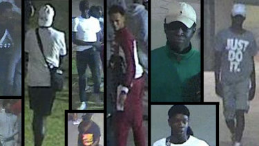 Investigators have released images of a number of males who they wish to speak to over the violent assault and robbery on the St Kilda Foreshore on December 1.