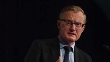 RBA governor Philip Lowe says there is a chance the next move in interest rates could be down