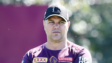Anthony Seibold was not impressed with suggestions he was in a scuffle with a fan.