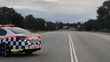 Police have closed roads near Oakford in Perth's south after a serious crash.