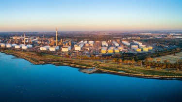 ASX-listed fuel supplier Viva Energy runs the Geelong oil refinery.
