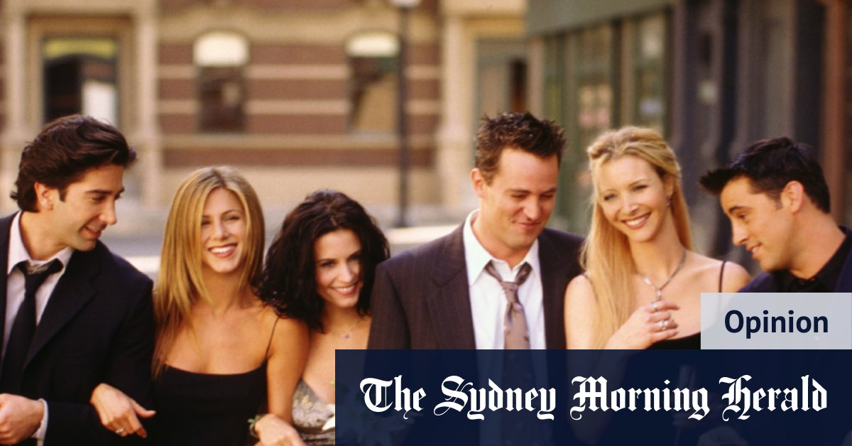 Better to look odd than old? The Friends reunion in a nutshell – The Sydney Morning Herald